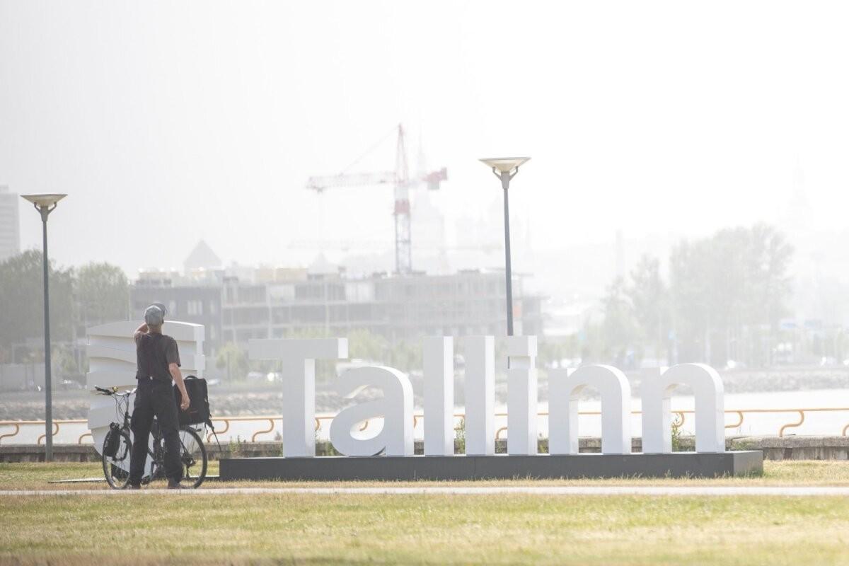 FOTOD   Tallinna siluetti mattev Kesk-Aasia tolm muutis õhukvaliteedi väga halvaks nii Tallinnas kui ka Tartus
