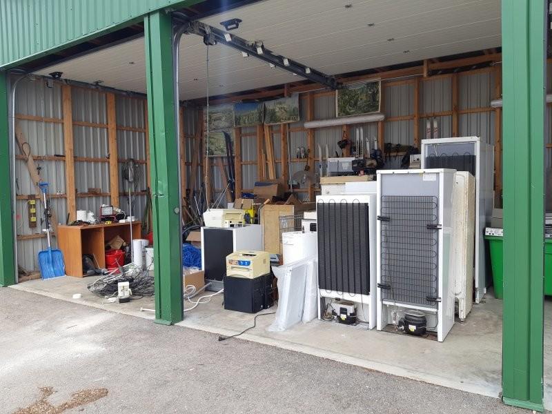 Keskkonnaamet kontrollib elektroonikaromude kogumiskohti