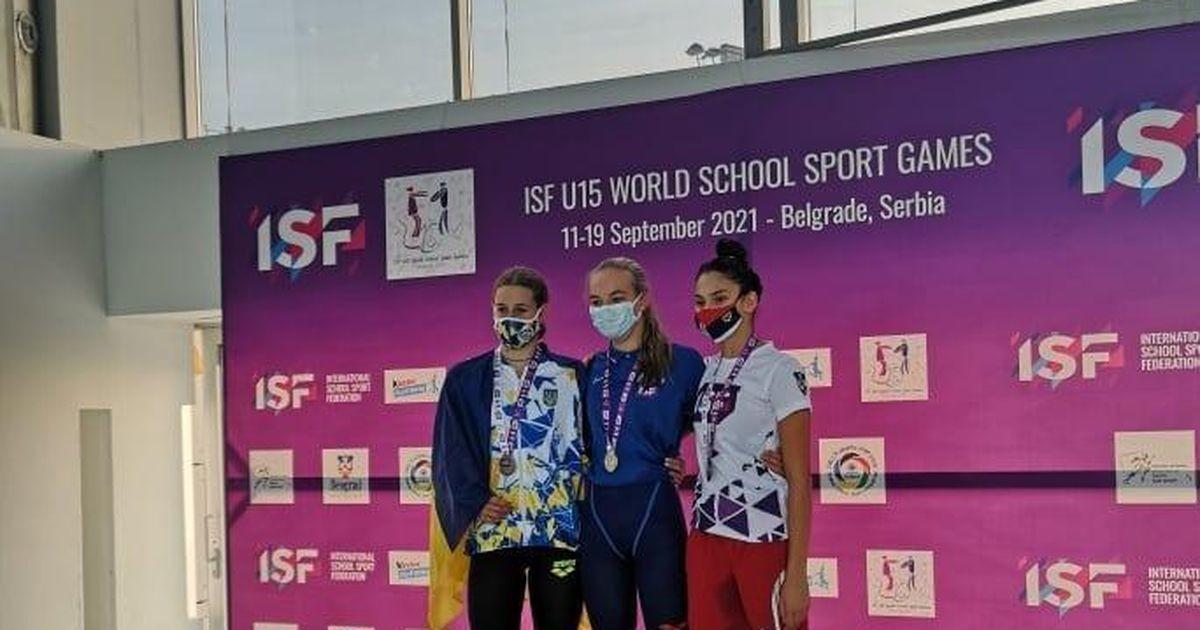 Virumaa noored ujujad osalevad koolispordi maailmamängudel