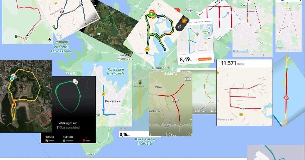 Politseinike GPS-kunst saavutas II koha