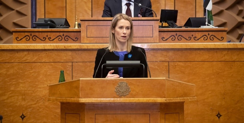 Peaminister tutvustas Riigikogule koroonaviiruse mõjude leevendamise plaane