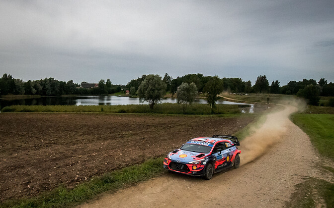 Selgus Rally Estonia võistlustrass