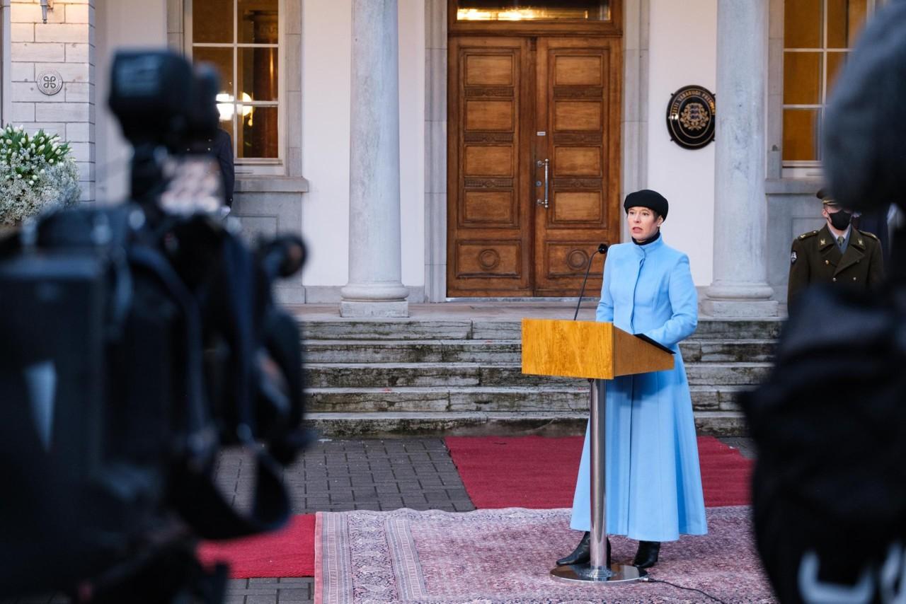 Kaljulaid loobub OECD peasekretäriks kandideerimisest