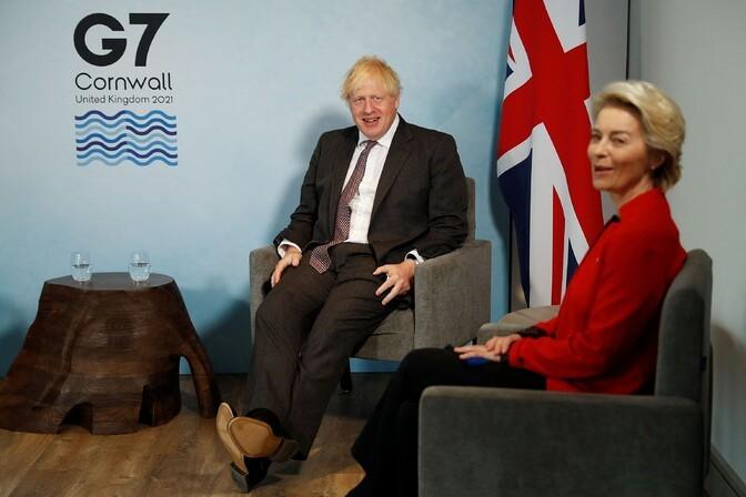 Johnson ärgitas EL-i võtma tõsiselt ettepanekut Põhja-Iiri protokolli kohta