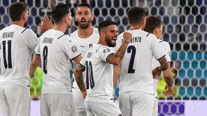 Itaalia sai EM-finaalturniiri avamängus Türgi üle kindla võidu