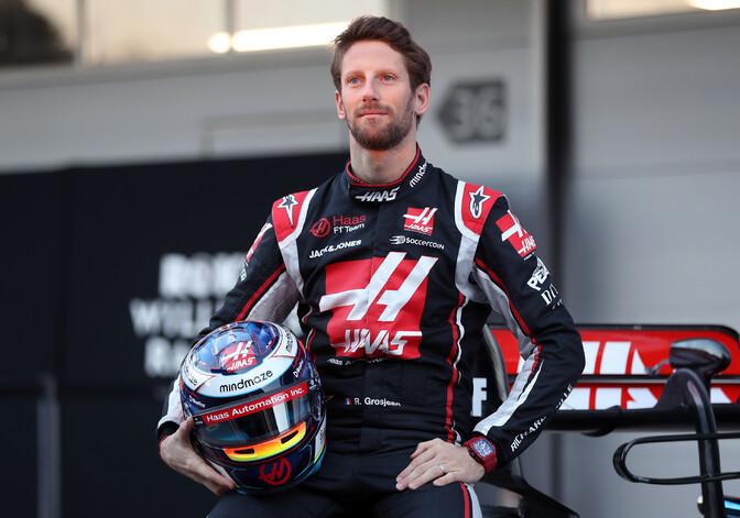 Jahmatava õnnetuse üle elanud Grosjean istub uuesti F1 autosse