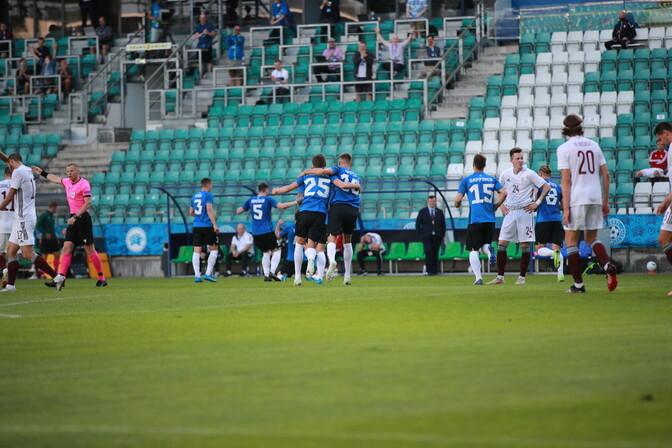 Eesti jalgpallikoondis võitis 83-aastase vaheaja järel Balti turniiri