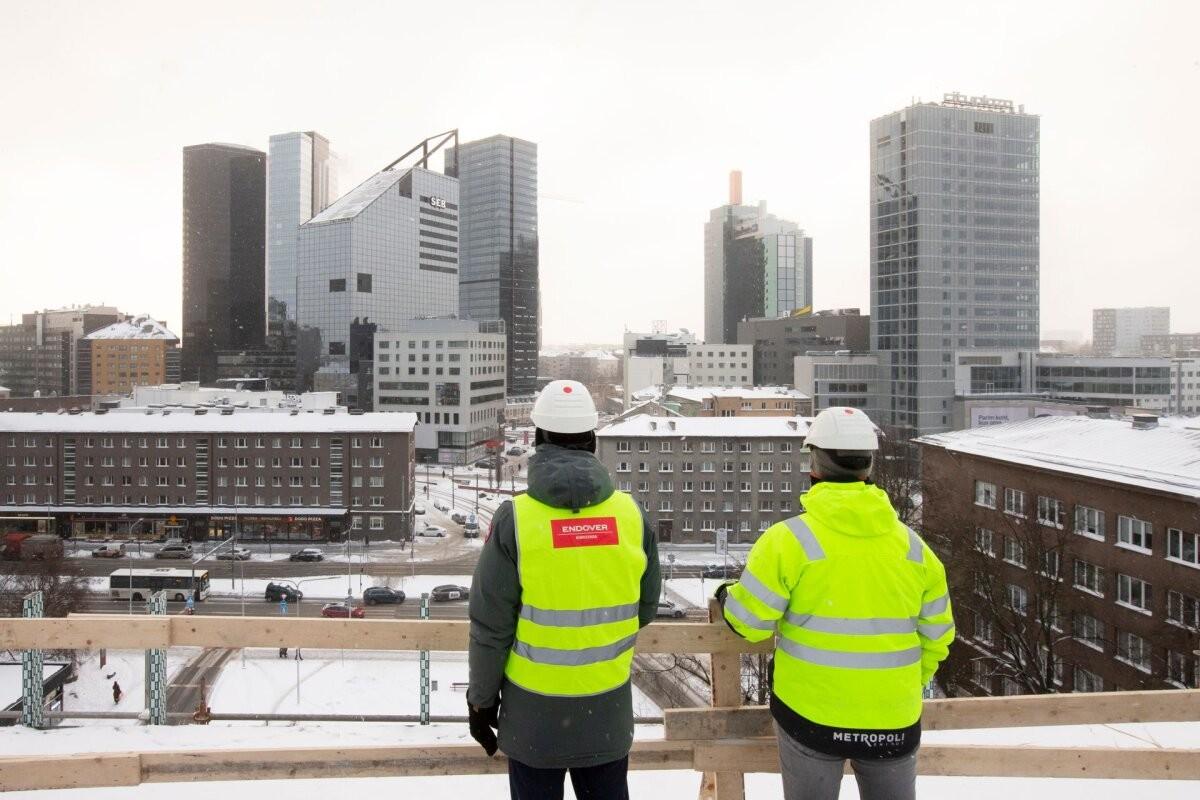 Tallinna kinnisvaraturg näitab seiskumise märke