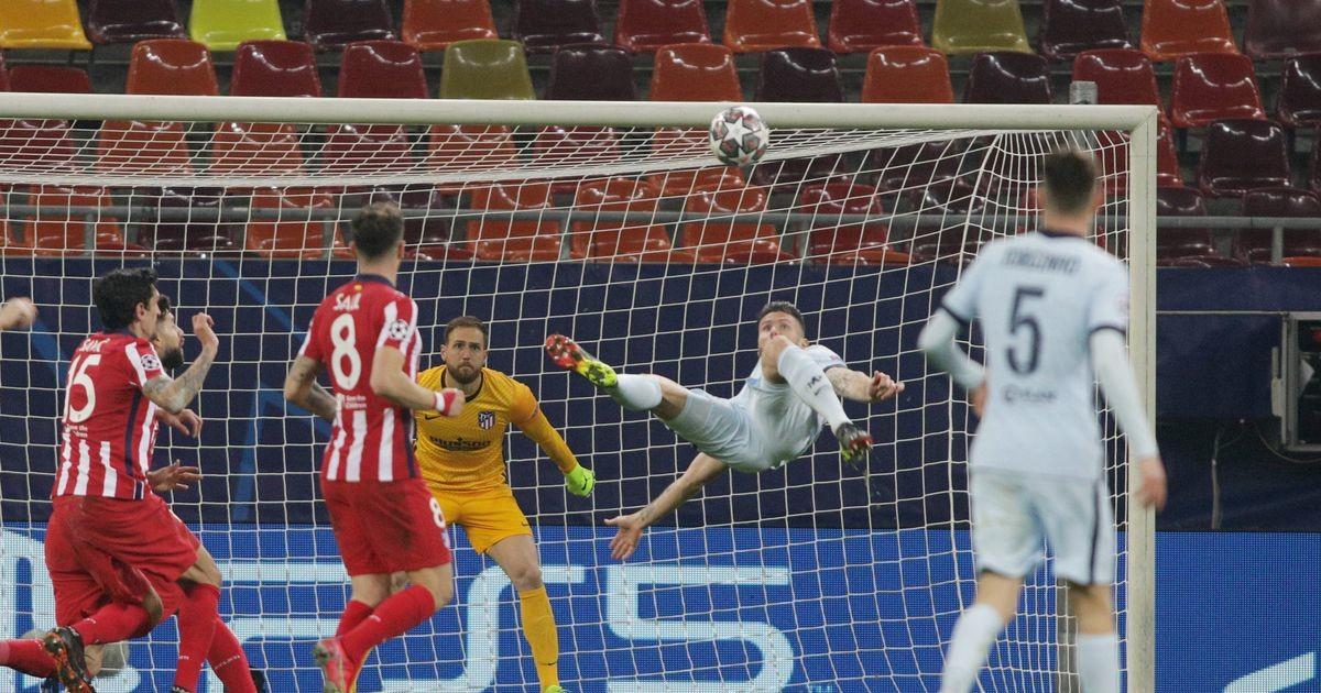 Tiitlikaitsja Bayern näitab klassi, Giroud skooris fantastilise käärlöögiga