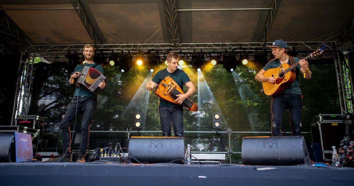 Flaami ansambel Trio Dhoore tõmbas folgi käima