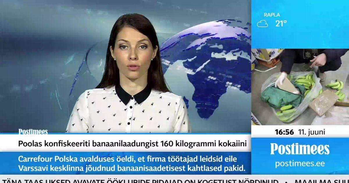 Poolas konfiskeeriti banaanilaadungist 160 kilogrammi kokaiini