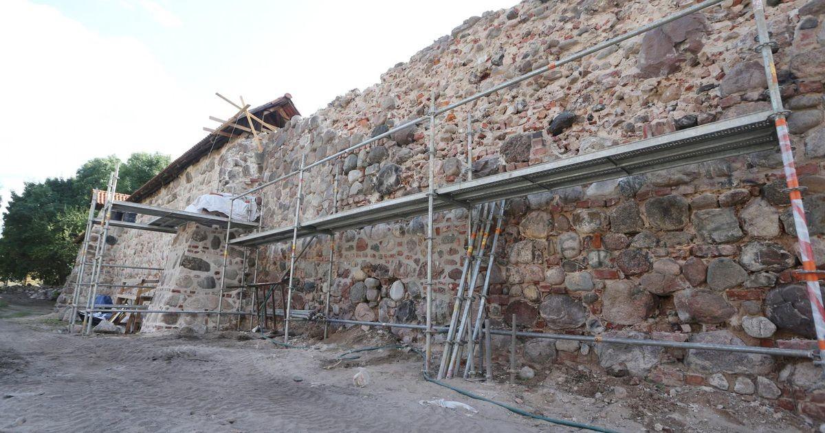 Tulemöll linnamüüri juures juulis 1704
