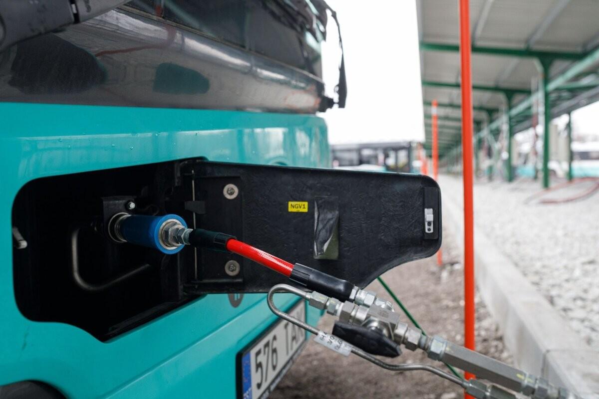 Tallinna bussifirma alustab gaasitankla lepingunõuete täitmise kontrolli
