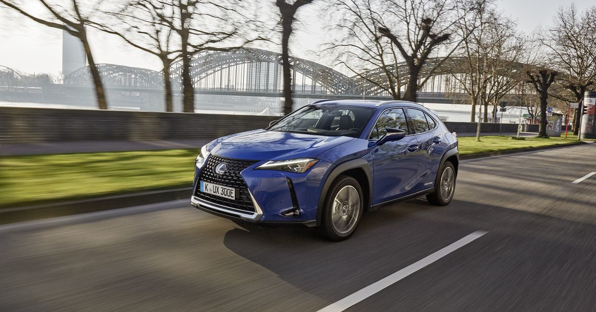 Eestisse jõudis esimene täiselektriline Lexuse mudel