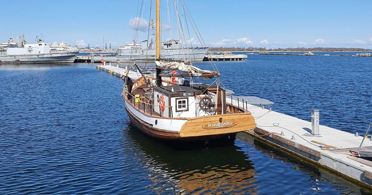 Ruhnu Karu sai jälle mereklaariks ja tegutseb nüüd Noblessneri sadamas