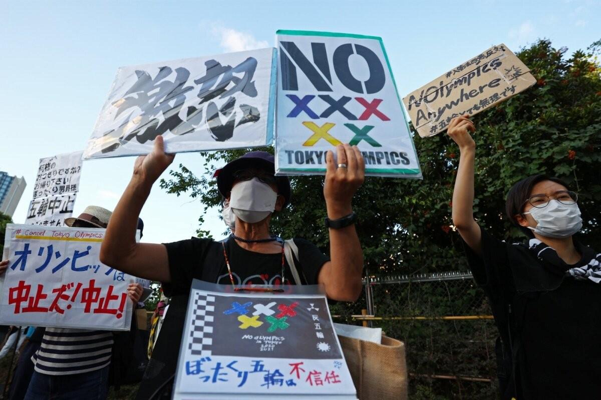 Juba viienda koroonalaine all ägavad jaapanlased ei taha olümpiat