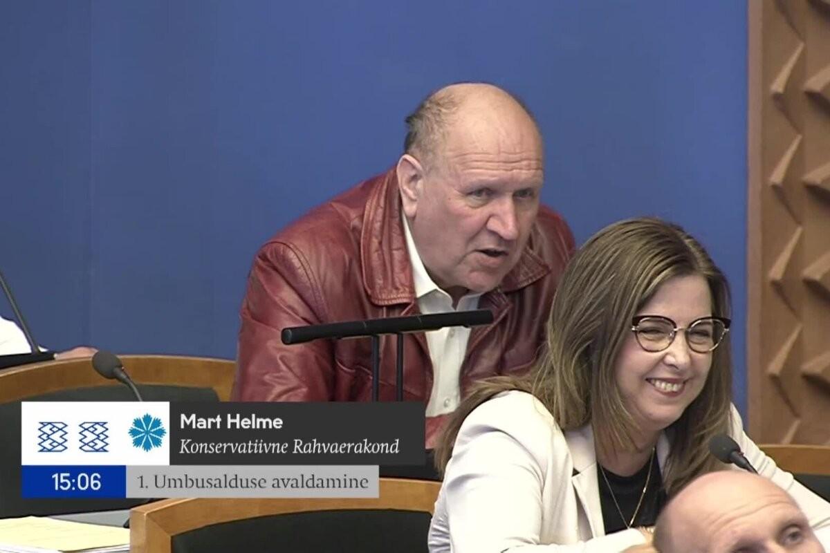 VIDEO   Mart Helme nimetas Kaja Kallast bipolaarseks. Karmen Joller: kust võetakse endale julgus mängida arsti?