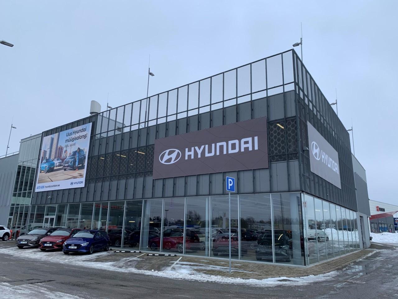 Hyundai avab Laagris uue esinduse
