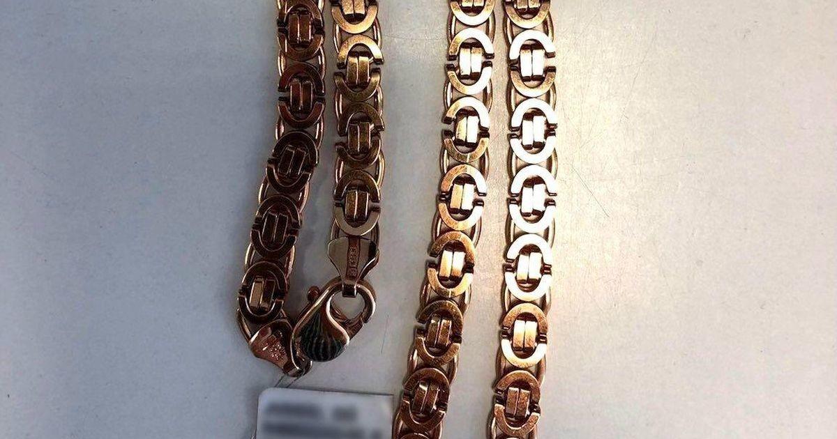 Politsei tabas Viljandi juveelipoest kuldketi varastanud mehe