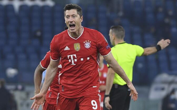 Tiitlikaitsja Bayern võttis kindla võidu, Chelsea alistas Atletico