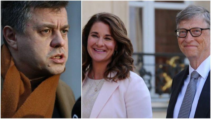Urmas Reinsalu: mõistan Bill ja Melinda Gatesi lahutuse teravalt hukka