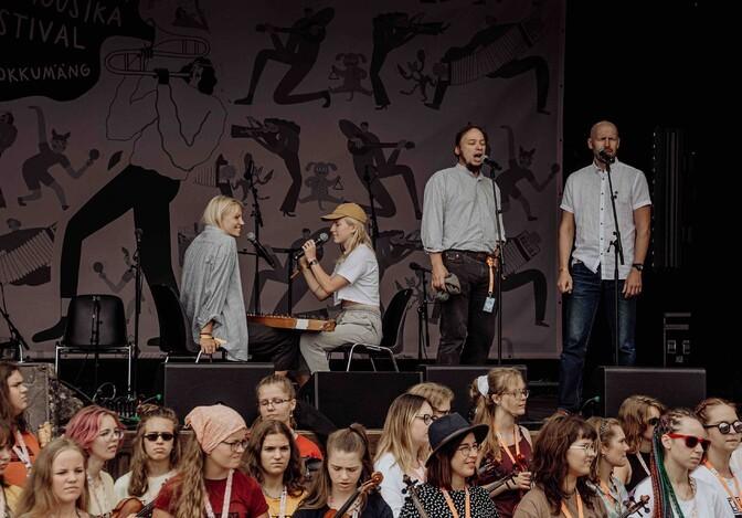 Viljandis läks lahti 28. pärimusmuusika festival