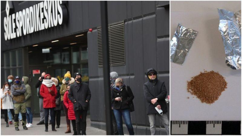 FOTO! Sellist süstimishuvi nähti Põhja-Tallinnas viimati siis, kui oli saada tõesti head fentanüüli