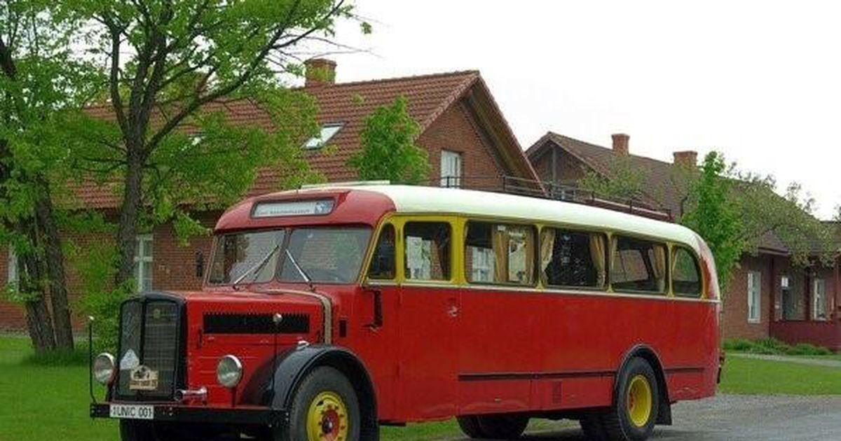 Muuseum toob välja busside ajaloo aarded