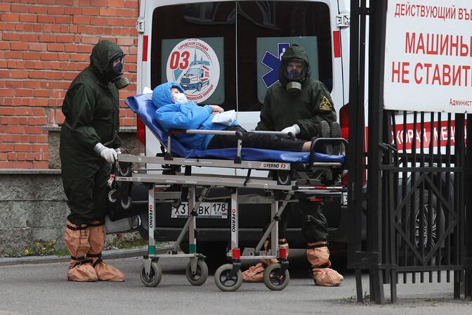 Venemaal kasvas nakatumine nädalaga veerandi võrra