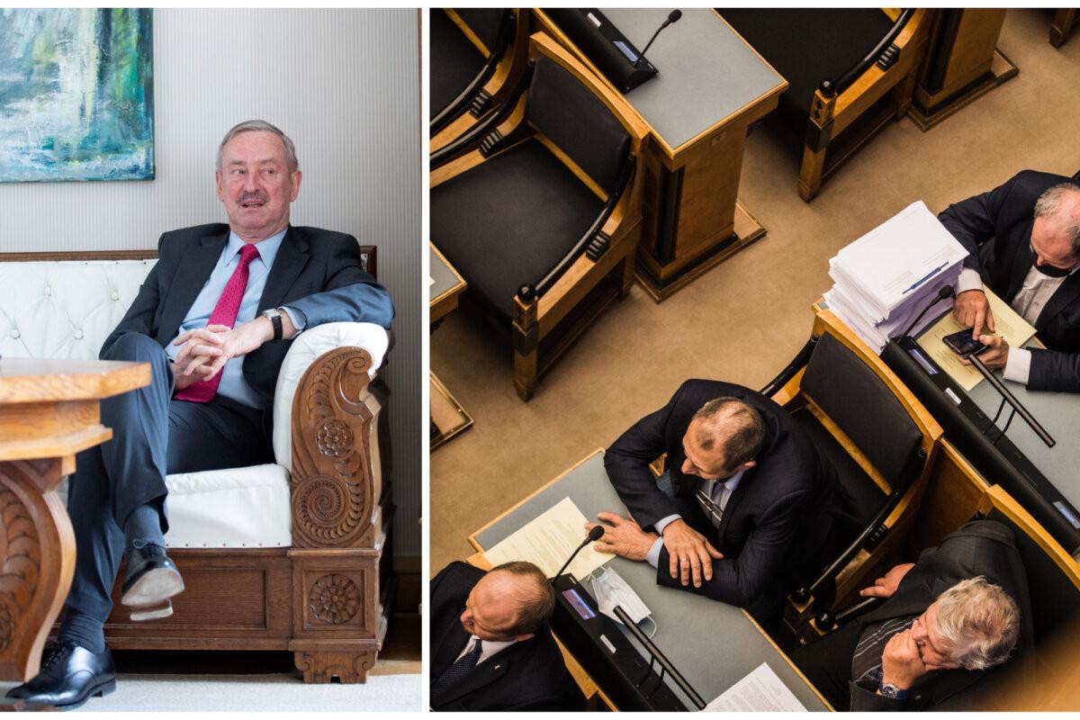 Siim Kallas: EKRE on halvanud riigikogu töö – Lenin ja Kingissepp saadaksid hauast õnnitluse