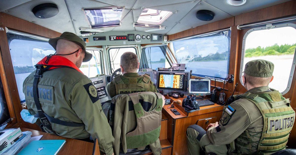 Piirivalvekaatriga Narva jõel ja Peipsi järvel