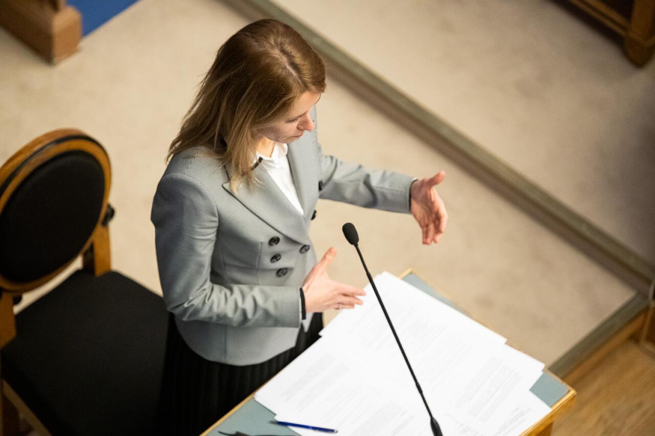 Kaja Kallas: praegu ei ole koroonaga nii kiire, et peaksin Riigikogu ette tulema – see pole nende nõuda