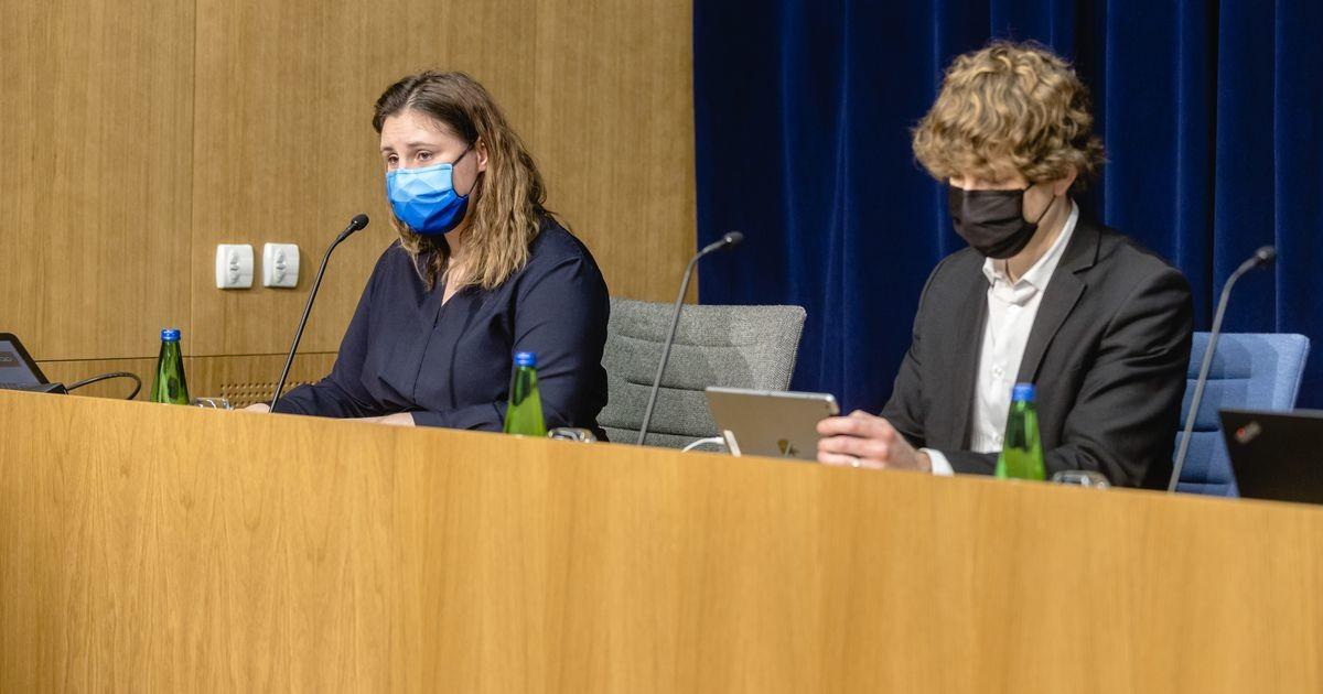 Terviseameti pressikonverentsil osalesid Kiik ja Härma
