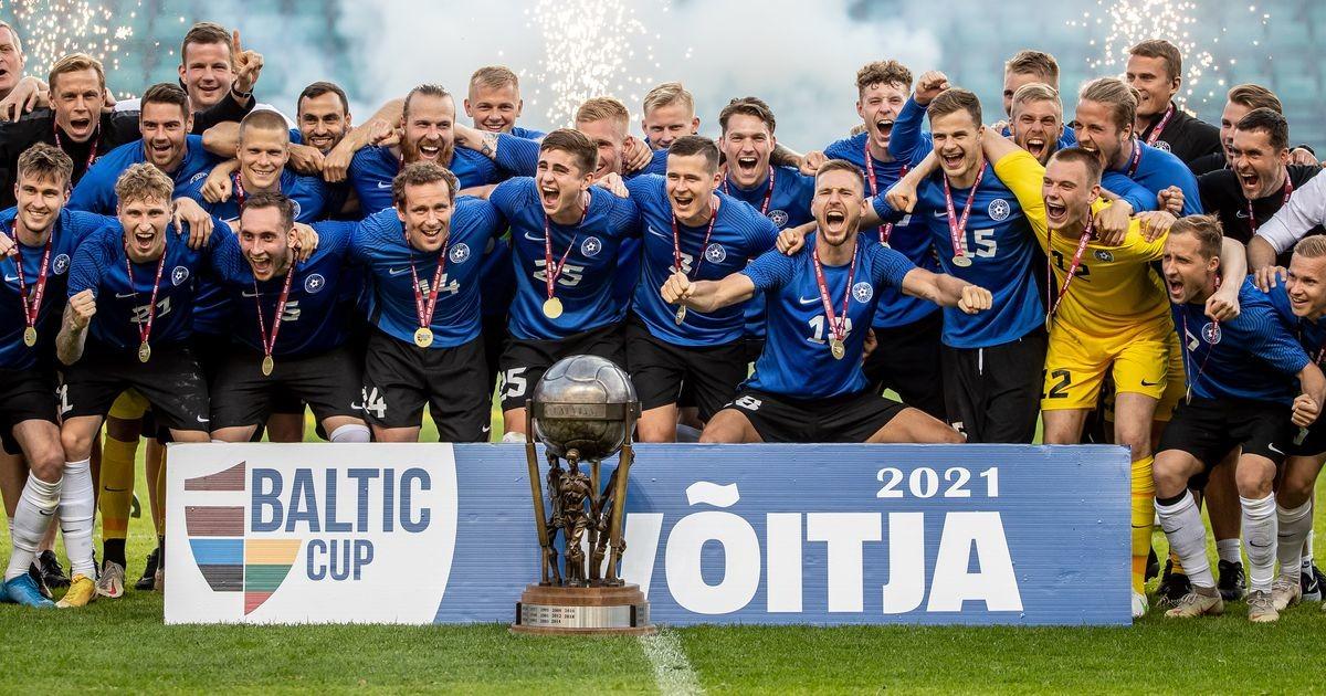 Kui lähedale Balti karika võitmisele oli Eesti jalgpallikoondis varem jõudnud?