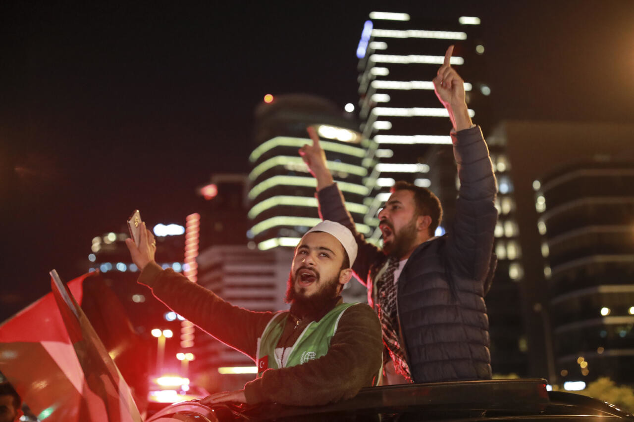 Palestiina-meelne protest Taani pealinnas muutus vägivaldseks