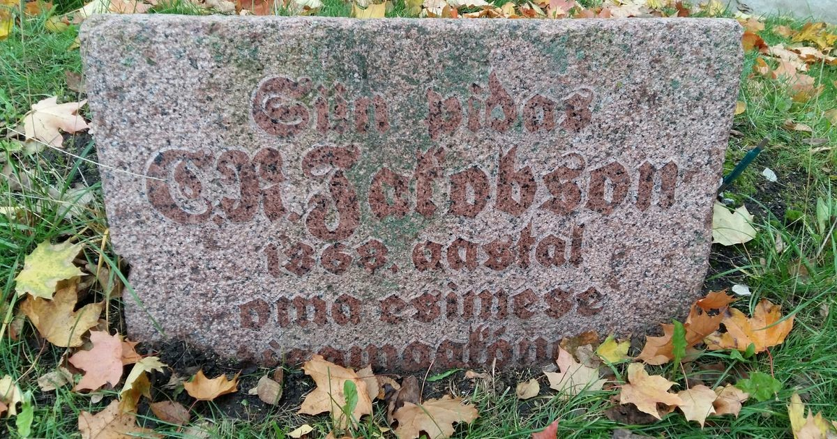 Carl Robert Jakobsoni 180. sünniaastapäeva auks paigaldatakse kolm pinki