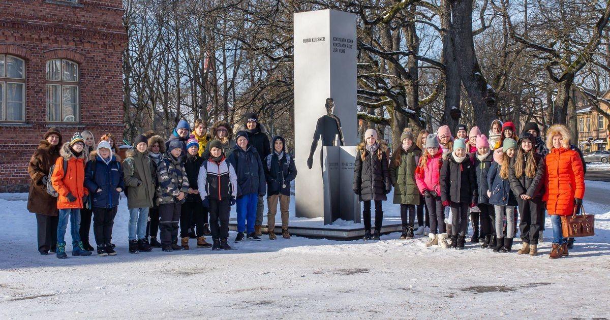 Tammsaare koolis peeti riigi sünnipäeva omal moel