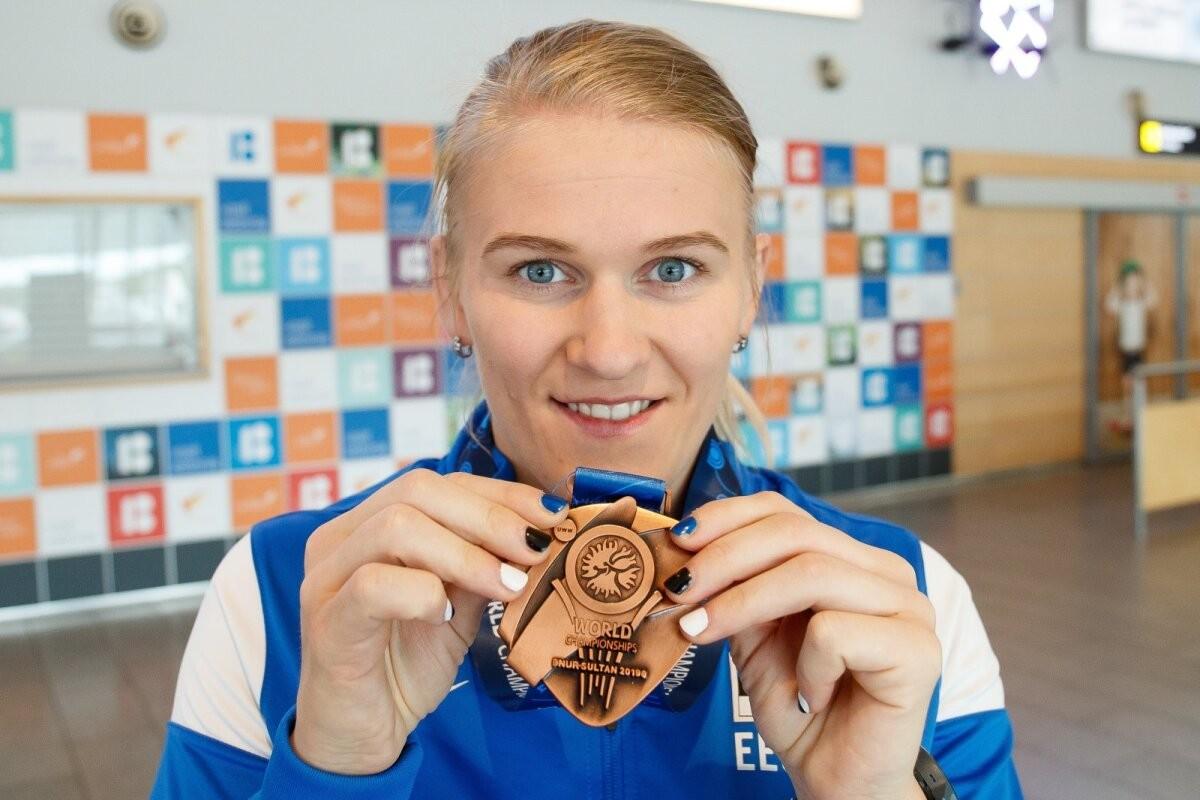 Suurepärases hoos Epp Mäe alistas taas olümpiavõitja