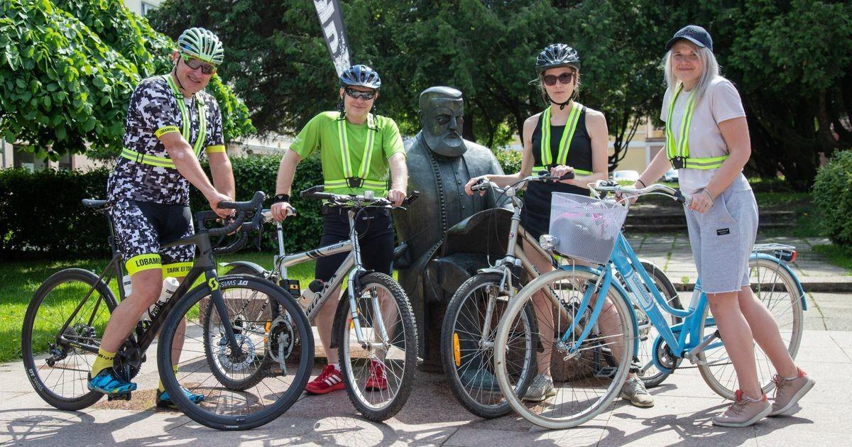 Linnaratas tegi kogenud ratturi suureks imestuseks läbi matka Viljandist Otepääle