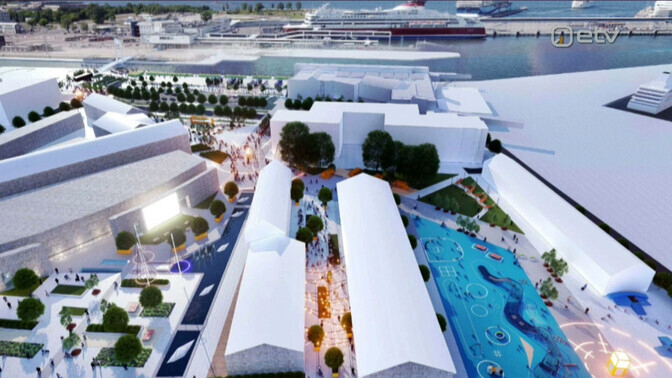 Tallinna sadamaala saab järgmise aasta lõpuks uue ilme