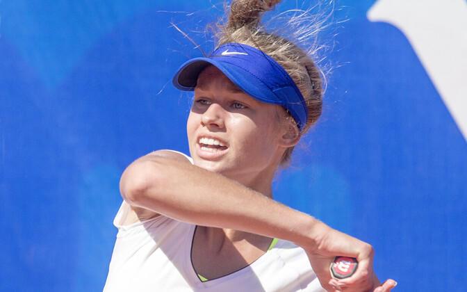 Daniil Glinka jõudis teise ringi, Maria Lota Kaul paarismängu poolfinaali