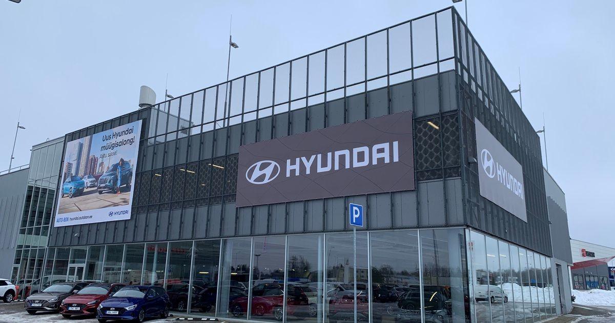 Hyundai avab Tallinnas uue esinduse