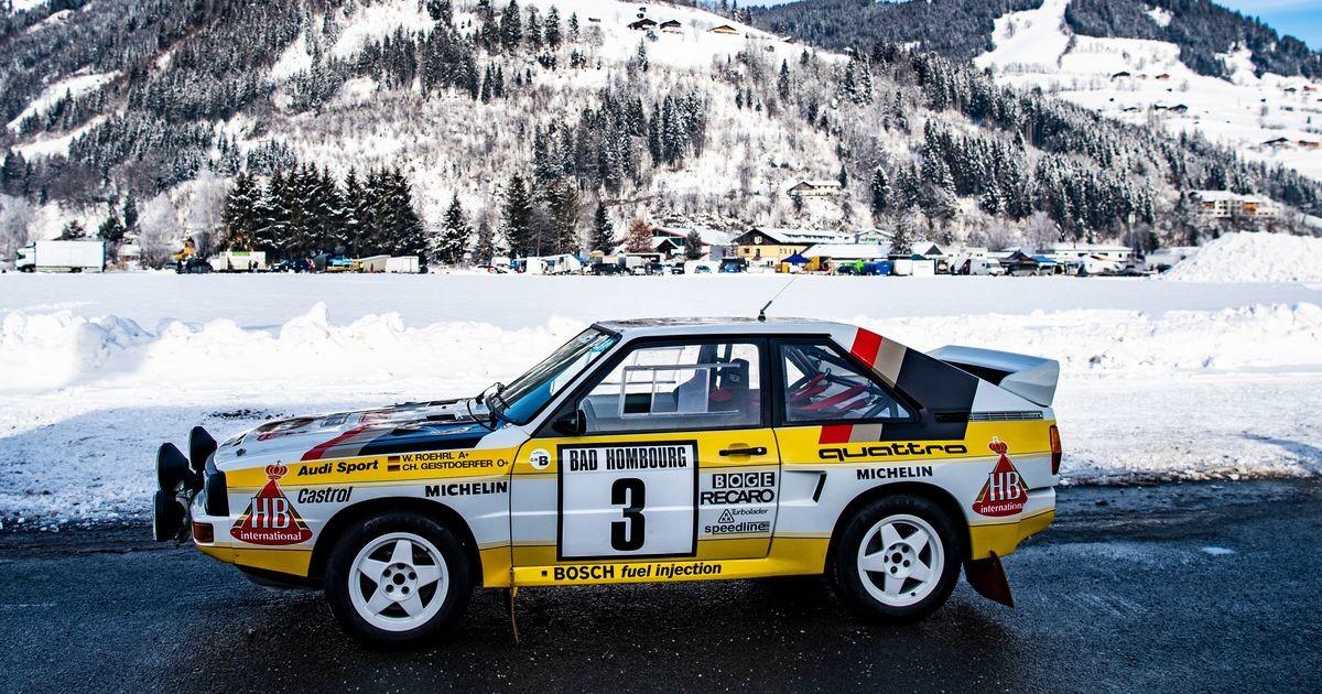 Kuidas Audi tegi WRC-maailmas revolutsiooni