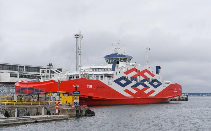 Parvlaev Tiiu viiakse Hiiumaa liinilt Saaremaa liinile