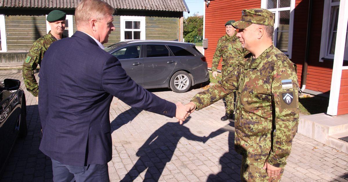 Kaitseminister Kalle Laanet külastas Kaitseliidu Järva malevat