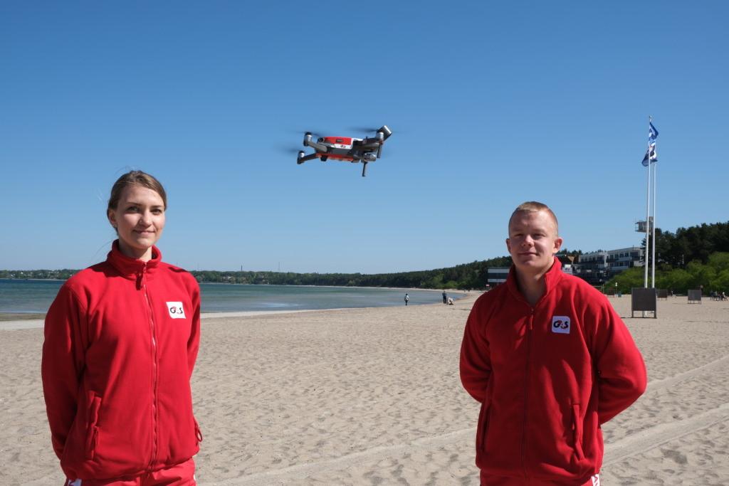 G4S-i rannavalvur aitas Paala järvest välja erivajadusega mehe