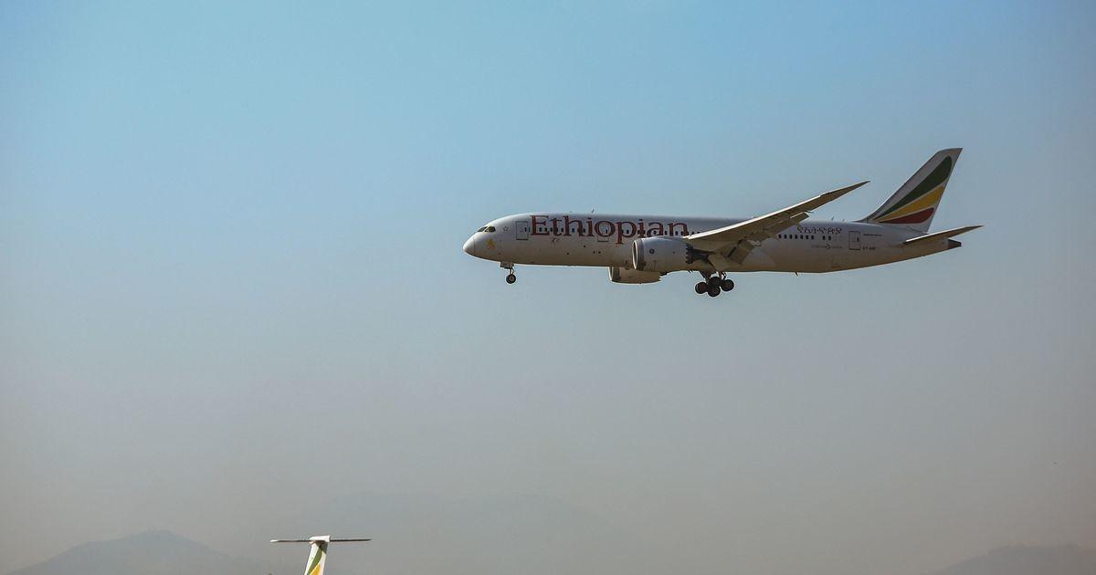 Etioopia lennufirma lennuk maandus valel lennuväljal