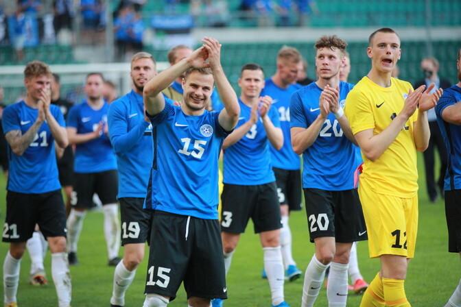 VIDEO   Eesti jalgpallikoondis sai pea kohale tõsta Balti karika