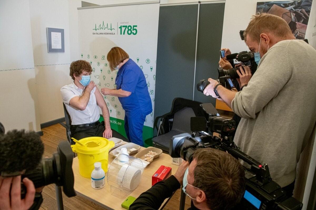 Esmaspäeval toimub COVID-19 vaktsineerimise avalik infotund vene keeles