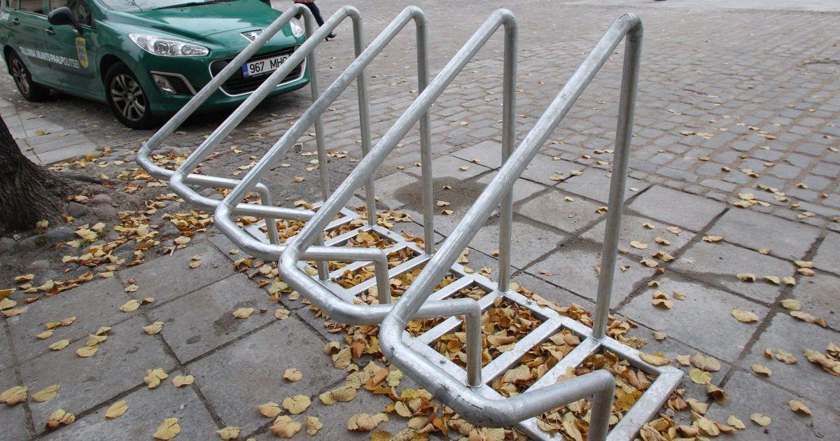 Põhja-Tallinna tänavatele tekib kümmekond jalgrattaparklat